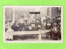 Swineshead Nr Boston Odd Fellows 1911 Coronation unused RP pc  GWS Ref A958