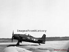 8x10 Print Navy Grumman F8F Bearcat Aircraft 1947 #5502509