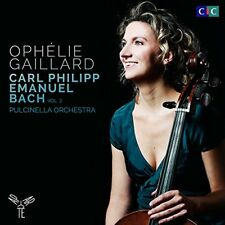Ophelie Gaillard - Carl Philipp Emanuel Bach Vol. 2 [CD]