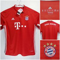 NWT FC Bayern Munich Munchen Adidas Climacool Jersey Red