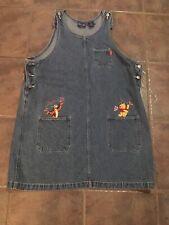 Disney's Winnie The Pooh Vtg Womens Denim Dress Size 18w