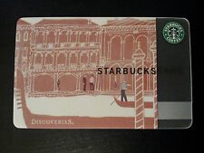 Starbucks Card 2010 Japan Discoveries Venezia #6060 Extremely Rare and Limited