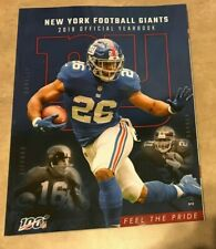 2019 New York Giants Official Football Yearbook NEW DENTED CORNER