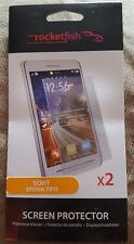 Sony Xperia Tipo Twin Pack RocketFish Screen Protector RF-ETX2CP-K