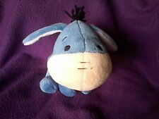 """DISNEY CUTIES Small 6"""" Plush EEYORE Stuffed Animal w/ Removeable Tail for Easter"""