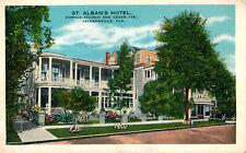 ST. ALBAN'S HOTEL, CORNER CHURCH AND CEDAR STS., JACKSONVILLE, FLA. FL.