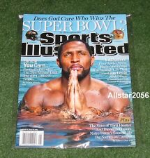 2013 RAY LEWIS~SPORTS ILLUSTRATED SI~BALTIMORE RAVENS~SUPER BOWL 47 CHAMPIONS