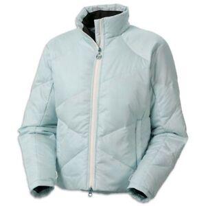 Columbia Dynasty Dish Down Jacket Womens Ski Hike Packable Coat Blue L