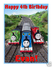 Thomas and Friends edible cake image party cake topper decoration