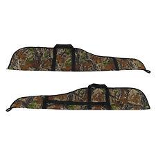 Tourbon Tactical Hunting Rifle Case Gun Slip Scoped Carry Bag Camo Shoot Storage
