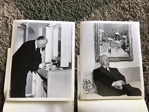 Alfred Hitchcock Publicity Photos
