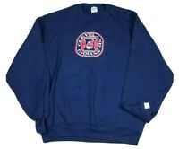 Vtg Cleveland Indians MLB The Game 90s Chief Wahoo Sweatshirt Adult L USA NEW