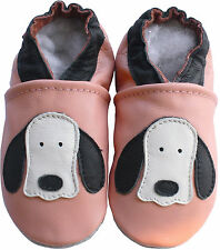 Carozoo dog long ear pink baby Girl Shoes kids slippers Up To 6 years old