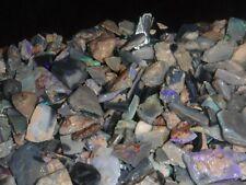 Australian opal rough Lighting Ridge small Miners Cuts/Chips parcel 200cts  #3