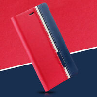 Luxury Flip Cover Stand Card Wallet PU Leather Case For Samsung/iPhone Mobiles M