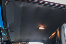 64-65 GTO LEMANS PERFORATED HEADLINER & SAIL PANELS, 2 DOOR HARDTOP, BLACK