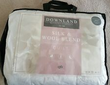 Downland Bedding Company SILK & WOOL BLEND Quilt Single RRP £159