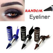 Waterproof Eyes Eyeliner Solid Thick Black Bold Eyes Liner Gel Pencil Makeup