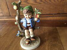 Hummel Goebel Figurine 142/1 Tmk 5 Apple Tree Boy Made in West Germany