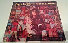 Jesse Ed Davis Keep Me Comin' Vinyl LP Record Epic AL 31233 RARE as is
