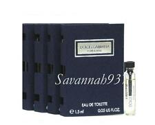 Dolce & Gabbana Pour Homme Mens Fragrance Sample Vial ~ Lot of 4