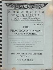 Holy Order of the Winged Disk The Practica Arcanum Volume 1 1987 Gnostic