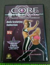 Core Rhythms Dance Exercise Program Body Sculpting Collection 3 Dvd Set 2008