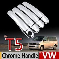 Chrome Handle Cover Set for VW T5  Volkswagen Transporter Caravelle Multivans