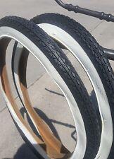 "26x2.125"" White Wall Goodyear tread Beach Cruiser Bike bicycle tires"