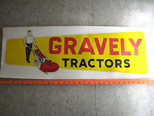 GRAVELY Vintage Walk Behind Tractor DECAL - NOS