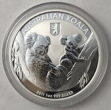 2011 Australian Koala with Berlin Privy 1 oz .999 Silver Bullion Coin