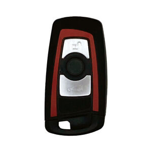 Smart Keyless Remote Fob Replacement for BMW 7 Series FCC YGOHUF5767 Red