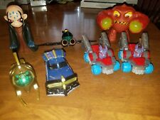 Skylanders Mixed LOT OF 7 Kids Meals Toys McDonalds Burger King Kaos Eruptor etc