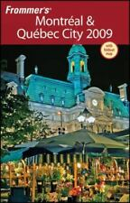 NEW - Frommer's Montreal & Quebec City 2009 (Frommer's Complete Guides)