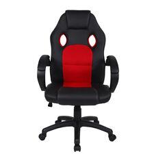Polar Aurora Office Chair Leather Desk High Back Ergonomic Adjustable pc Chair
