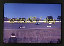 Camaro and Porsche @ 1973 Daytona 24 Hours - Vintage 35mm Race Slide