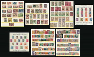 >>NICE<< OLD IRAQ STAMP COLLECTION (7 PAGES !!) SEE THE PICTURES > NO RESERVE
