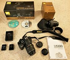 Nikon D 5100 camera with 2 lens & accessories