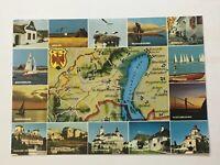 Burgenland Österreich AK Erholungsgebiet Neusiedlersee - Orientierungskarte