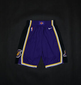 HOT Los Angeles Lakers Purple Basketball Shorts Size: S-XXL