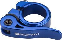 Promax QR-M Quick Release Seat Clamp 25.4mm Blue