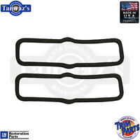 1970 1973 CAMARO RS PARK LAMP LENS TO HOUSING GASKETS PAIR NEW # 020