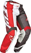 FLY KINETIC MX ATV Pants Size 36 pants  red/grey/white 368-53236 over 50% off!