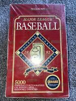 1992 Donruss major league baseball series 2 factory sealed box