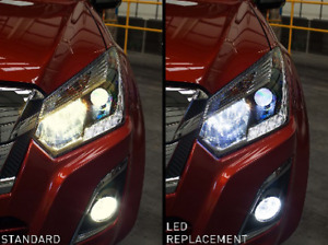 GENUINE ISUZU DMAX APPROVED LED HEADLIGHT UPGRADE KITS IACC2807/2808/2809