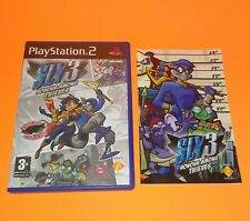 Sly 3 Honour Among Thieves **REPLACMENT BOX AND MANUAL ONLY** Sly Cooper PS2
