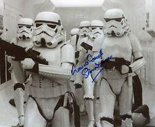 LAURIE GOODE Star Wars Stormtrooper Autograph Signed Image UACC & AFTAL DEALER