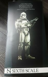 Sideshow Collectibles Star Wars Wolfpack Clone Trooper 104 Battalion