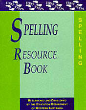Spelling Resource Book (First Steps), Good Condition Book, Education Department