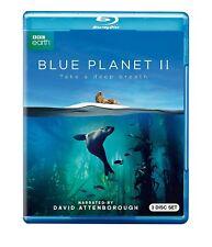 BLUE PLANET II 2 BLU-RAY (3 DISC SET) - NEW - DAVID ATTENBOROUGH - BBC EARTH